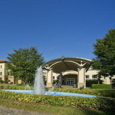 Exterior of Winter Park Memorial Hospital Baby Place